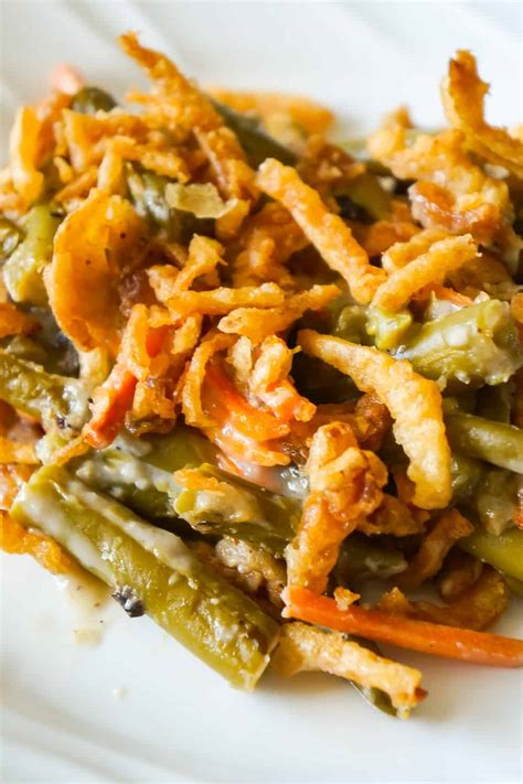 green bean casserole  campbells soup