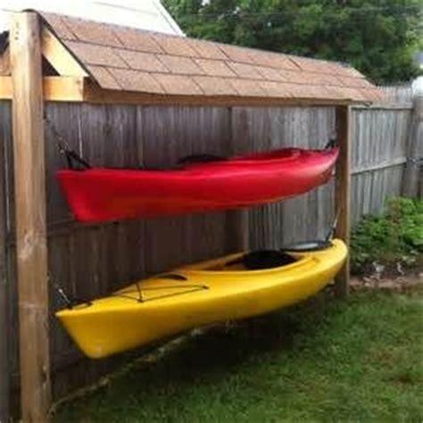 Diy Kayak Shed