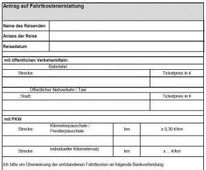 Vorlage Antrag Fahrtkostenerstattung Fahrtkostenerstattung Wann Muss Der Arbeitgeber Zahlen