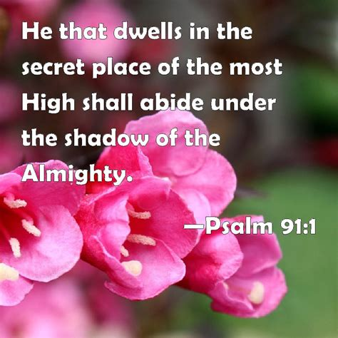 the secret place of the most high reflections of a ã s unfailing books psalm 91 1 he that dwells in the secret place of the most