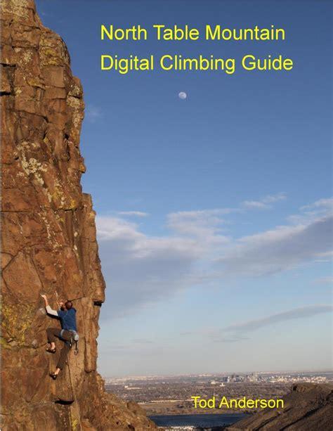 table mountain climbing table mountain rock climbing guidebook
