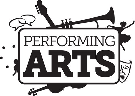 stagecoach performing arts acting singing and theatre theatre clipart performing art pencil and in color