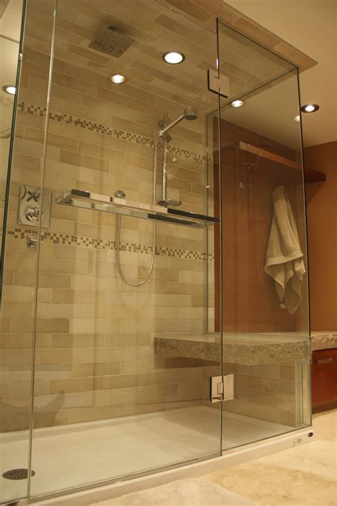 bathroom showers ideas pictures shower designs with bench pollera org