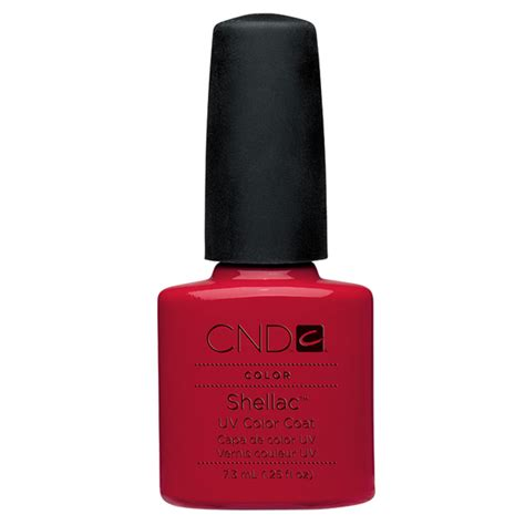 Cnd Gel L by Cnd Shellac Uv Color Coat Gel Nail Wildfire