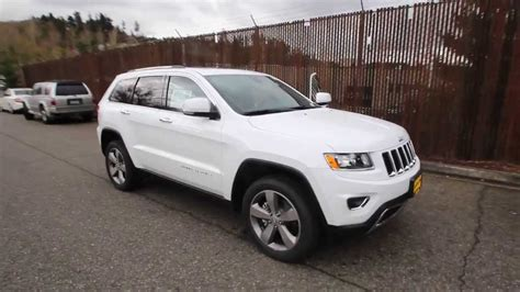 old white jeep cherokee 2014 jeep grand cherokee limited white ec431969