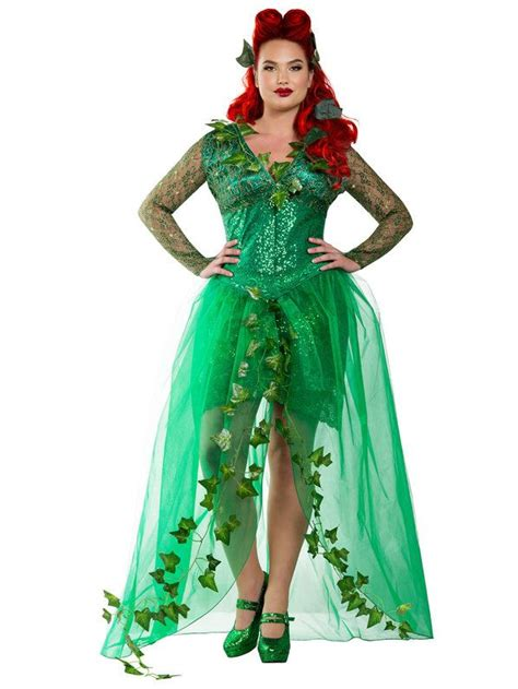 Handmade Costumes For Sale - curvy s poison costume plus size