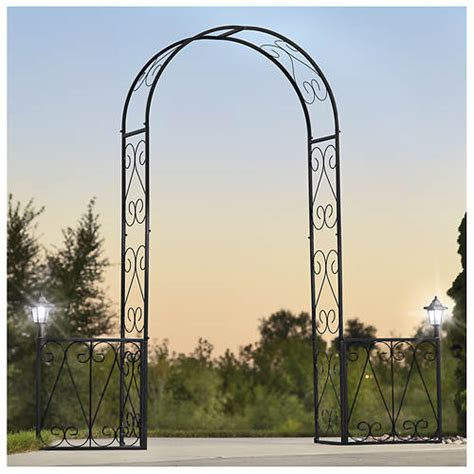 Garden Arch With Lights Lighted Garden Arch Out Of Stock Gallery