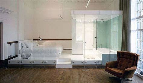 Glass Bathroom In Bedroom 20 Beautiful Bedroom With Bathroom Designs Open Concept