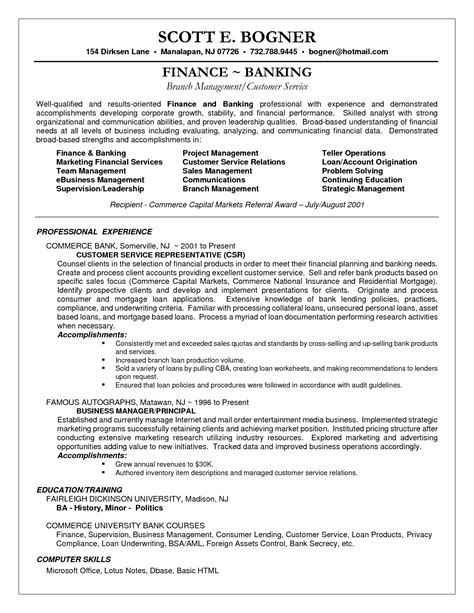 Customer Care Associate Sle Resume by Resume For Customer Service Rep Najmlaemah