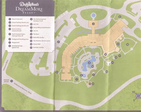dollywood map dollywood s dreammore resort review and tour coaster101