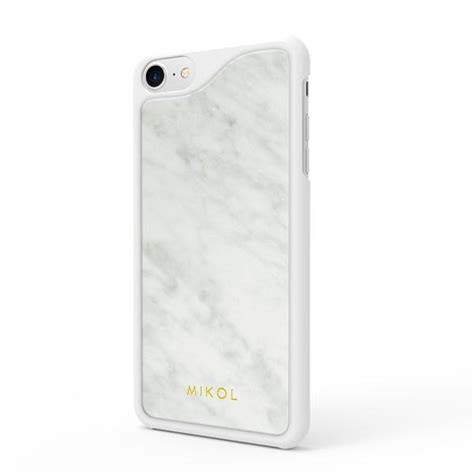 Custom Casing White Marble For Iphone 6 6 7 7 8 8 laguna blue marble iphone mikol