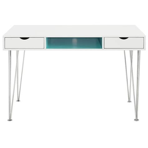 aqua blue desk accessories computer desk in aqua blue d48ca1aq