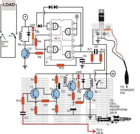gsm based cell phone remote switch circuit