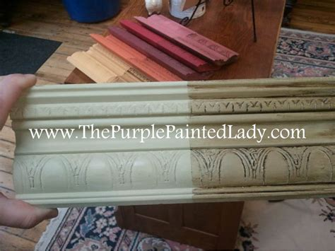 chalk paint distress before or after wax sanding chalk paint 174 before or after waxing the purple