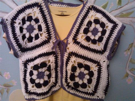 flower pattern vest crochet flower power vest bolero youtube