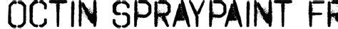 free spray paint font generator octin spraypaint free font