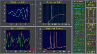 Find sound card spectrum analyzer freeware