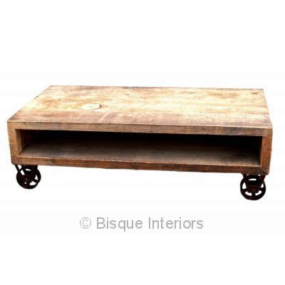 Caster Wheel Coffee Table Rectangular Caster Wheel Coffee Table S House Pinterest