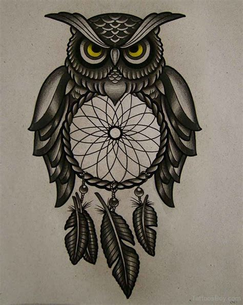 tribal owl tattoos designs owl tattoos designs pictures page 4
