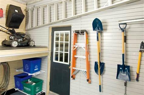 Push Mower Garage Storage Ideas Mower Storage Garage