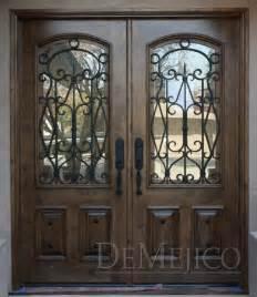 Front Doors With Wrought Iron Puerta Avan Entry Doors Demejico