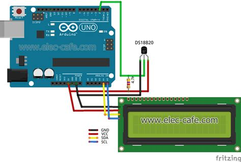 tutorial arduino ds18b20 arduino ds18b20 wiring diagram wiring diagram