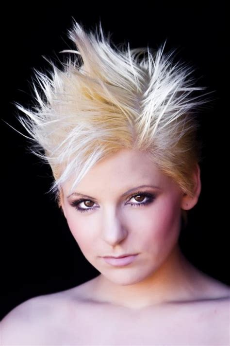 spiked hair styles for women short spiky hairstyles for women hairstyles be cool