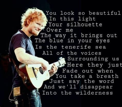 ed sheeran tenerife sea tenerife sea officially in love with this song probably