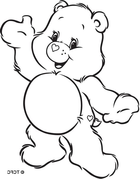 care bear coloring pages pdf the care bears family free coloring pages