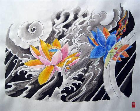 japanese lotus flower tattoo designs 44 japanese lotus tattoos collection