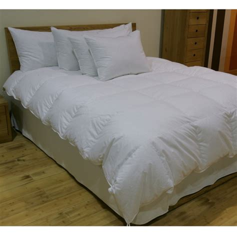 white goose down comforter king 235tc fall weight white goose down comforter