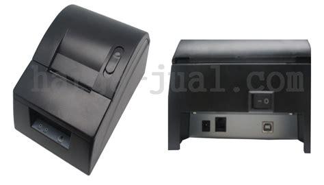 Printer Untuk Kasir printer kasir tulisan jelas hitam bisa mencetak nota dengan cepat harga jual
