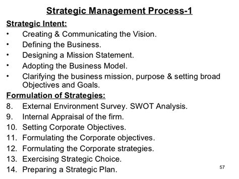 Business Policy And Strategic Management Mba Notes by Business Policy Strategic Management For Mba