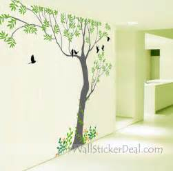 huge tree wall sticker wallstickerdeal home decals bambi love