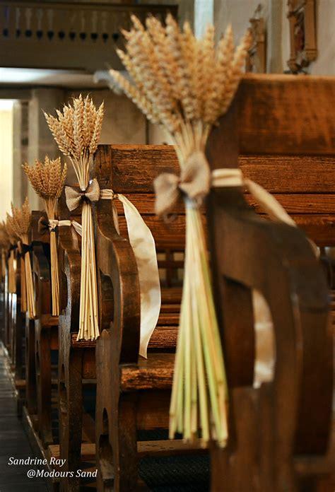 decoration banc eglise d 233 coration banc de l 233 glise pour mariage th 232 me nature