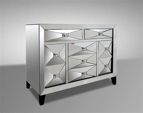 Mirror Dresser Furniture by Warwick Mirrored Dresser