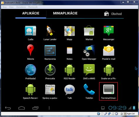 android 4 0 on virtualbox networking issues nil network information library