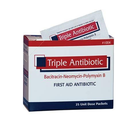 triple antibiotic ointment on tattoos antibiotic ointment packet speedy aid