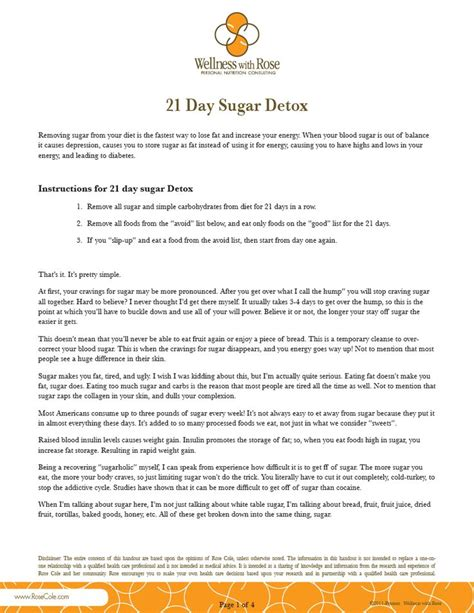 21 Day Detox Calendar by 17 Best Images About Sugar Detox On Paleo