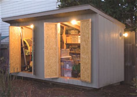 Shed Electrics by Wiring A Garden Shed How To