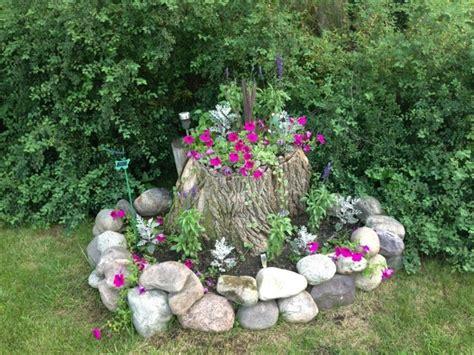 Gartendeko Baumstamm by Gartendeko Basteln Naturmaterialien 35 Beispiele Wie