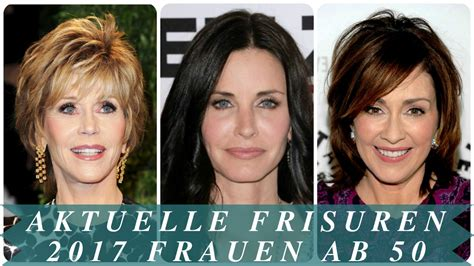 Frisurentrends 2017 Frauen by Aktuelle Frisuren 2017 Frauen Ab 50