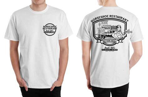 Design A Restaurant Shirt | 22 bold serious restaurant t shirt designs for a