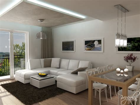 modern apartment in neutral colors slovakia stylish