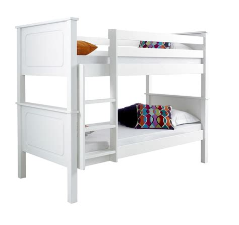 Happy Beds Vancouver Solid Wood Pine Bunk Bed 3ft Single Vancouver Bunk Beds