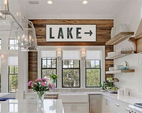 25 best ideas about lake house kitchens on