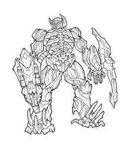 transformers 3 shockwave coloring pages how to draw