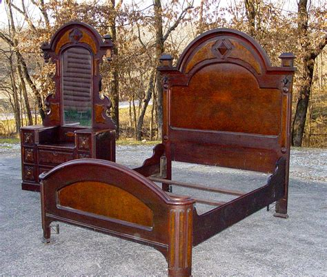 antique bedroom furniture for sale 3 4 victorian era bed with matching dresser for sale