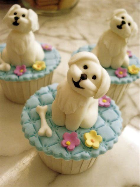 Decorate Cake At Home by 35 Cute Dog Cupcakes Cupcakes Gallery