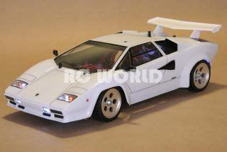 Lamborghini Countach Rc Car Tamiya 1 10 Rc Lamborghini Countach Race Car Rtr 2 4ghz